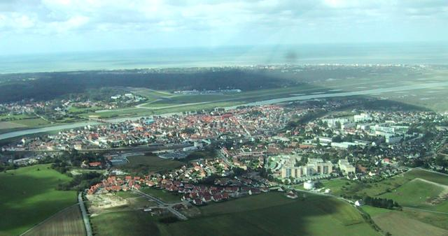 A view of Le Touquet airport