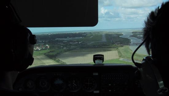 My final approach into Le Touquet