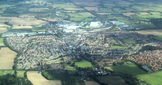 A view of Paddock Wood